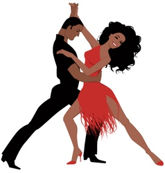 Latin dance vector image