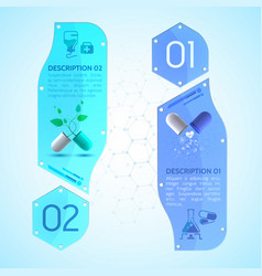 medication vertical banners set vector image