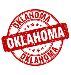 Oklahoma stamp vector