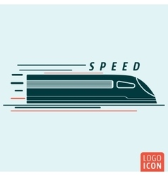 Train icon isolated vector image vector image