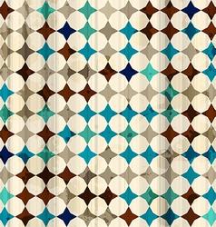 vintage mosaic seamless texture vector image