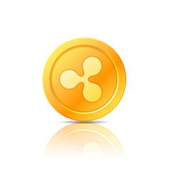 Ripple coin symbol icon sign emblem vector