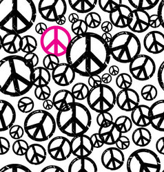 seamless hippie background vector image vector image