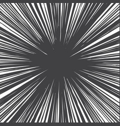 grunge radial lines texture vector image