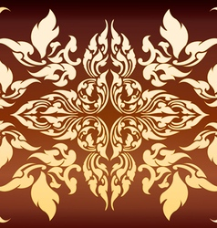 Line Thai 2 vector image vector image