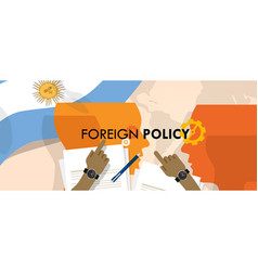 Argentina us foreign policy diplomacy vector