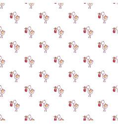 Baby hobbledehoy pattern seamless vector