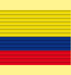 Colombian flag vector
