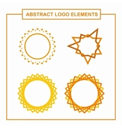 Elements for Logo Design vector image