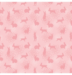 enchanted lapins pattern vector image