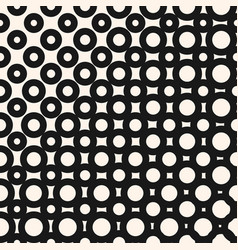 Halftone pattern geometric seamless texture with vector