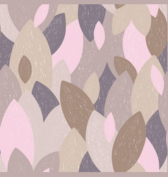 hand-drawn abstract pattern in trendy colors vector image
