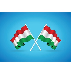 hungary flag vector image
