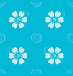 pattern 00587 flora ornament vector image