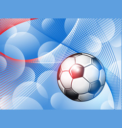 soccer championship abstract colorful background vector image