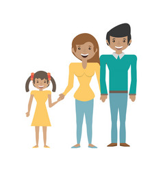 family people relation lovely vector image vector image