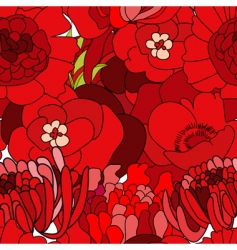 seamless wallpapers vector image vector image
