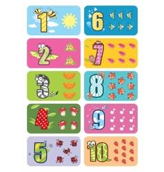 Baby numbers vector
