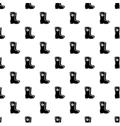 boots pattern seamless vector image
