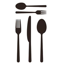 Cutlery vector image
