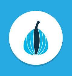 delicious icon colored symbol premium quality vector image