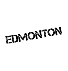 Edmonton rubber stamp vector