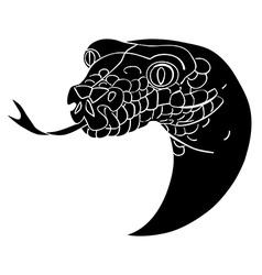 Snake avatar vector