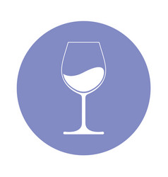 wine card vector image