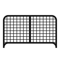 Gate icon simple style vector image vector image