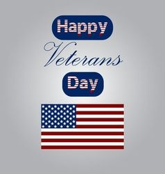 Honoring all who served banner for memorial day vector image vector image