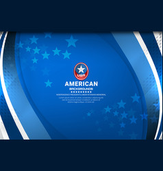 america background design vector image