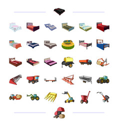 furniture business trade and other web icon in vector image