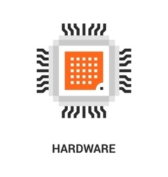 Hardware icon concept vector