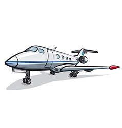 jet airplane vector image