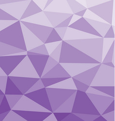 polygonal background in purple and lilac colors vector image