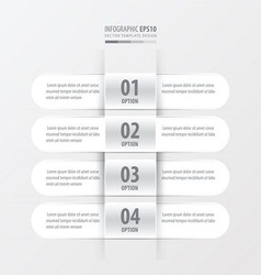 Rounded Banner white color vector