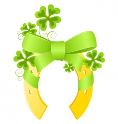 Saint Patrick's day background vector image