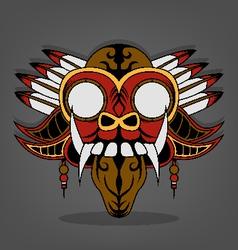 Steampunk Barong Bali vector