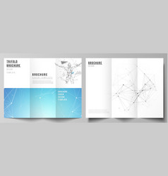 The layouts of modern creative covers vector