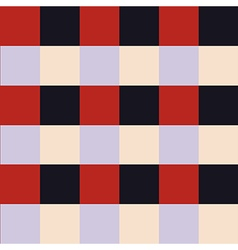 Red violet chess board background vector
