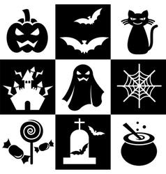 halloween icon vector image