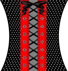 Coquettish lace vector