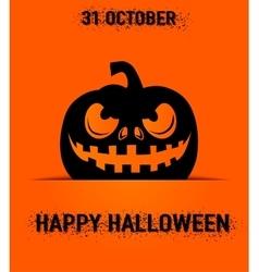 Happy halloween greeting vector