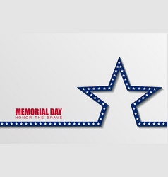 memorial day1 vector image