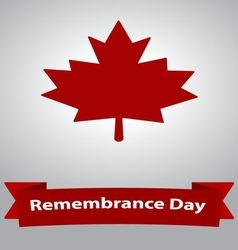 Remembrance day - veterans day vector