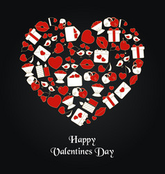 valentines day background valentines day vector image