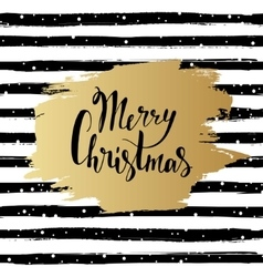 Merry Christmas Hand drawn vector image vector image