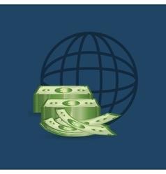 Money business financial vector image