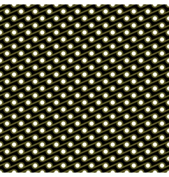 seamless patterngreece waves vector image vector image