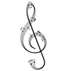 abstract clef vector image